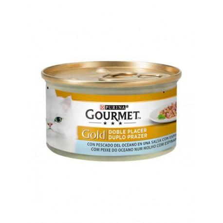 Gourmet Gold Duplo Prazer Peixe Do Oceano