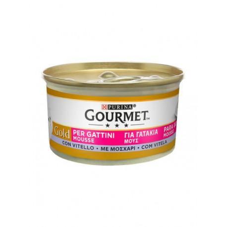 Gourmet Gold Gatinhos Mousse Vitela