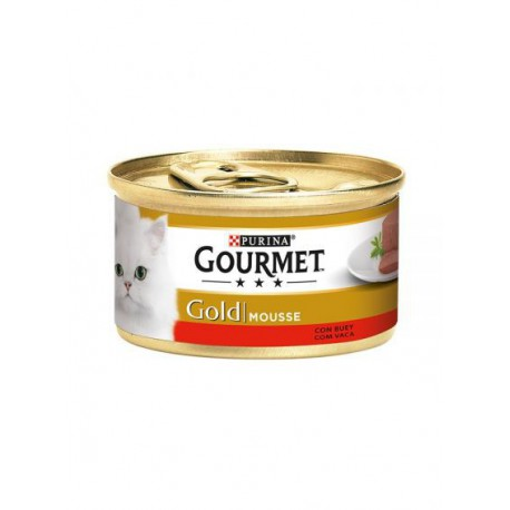 Gourmet Gold Mousse Carne De Vaca