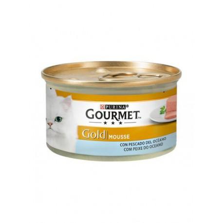 Gourmet Gold Mousse Peixe Do Oceano