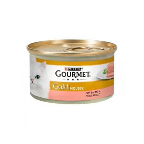 Gourmet Gold Mousse Salmão