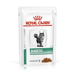 Royal Canin Cat Diabetic in Gravy Saqueta - 12 x 85gr