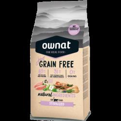 Ownat Gato Just Grain Free Sterilized 8 kg