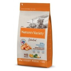 Nature's Variety Selected Cat Grain Free Salmão