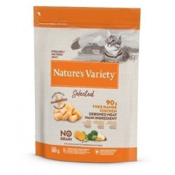 Nature's Variety Selected Cat Sterilized de Frango do Campo