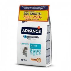 ADVANCE CAT - KITTEN 750GR + 750GR