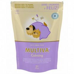 Multiva Calming Gato e Cao Pequeno 21 Chews