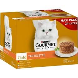 Gourmet Gold Gold Pack Tartelette 24x85g
