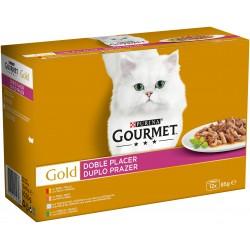 Gourmet Gold Duplo Prazer Gato Adulto 12x85g