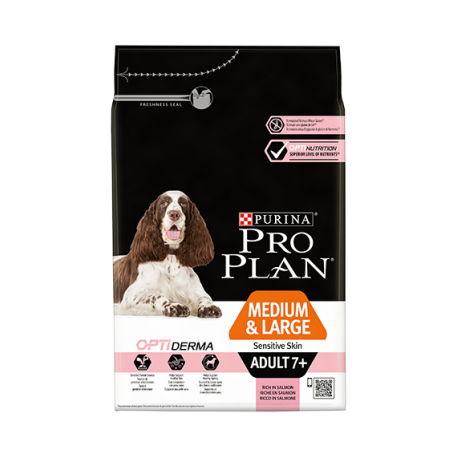Pro Plan Medium Large 7+ Optiderma 14 Kg