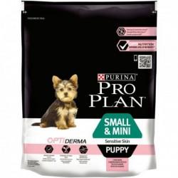 Pro Plan Small & Mini Puppy OPTIderma Salmão