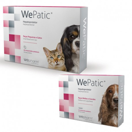 Wepatic 30 comprimidos