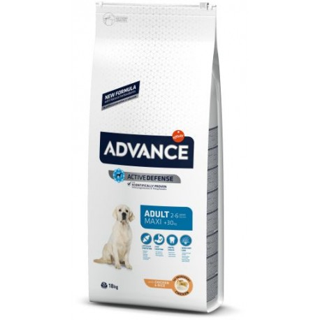 Advance Dog Maxi Adult Chicken & Rice 14Kg