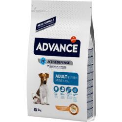 Advance Dog Mini Adult Chicken & Rice 3kg