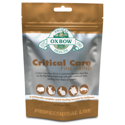 Oxbow Cuidados Intensivos Herbivoros Fino 100 G