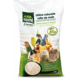 Hamiform Areia natural de milho roedores/pássaros 10L