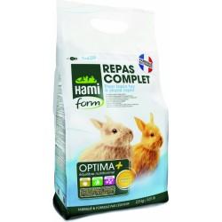 Hamiform Optima + Coelho jovem e anão 2.5 kg