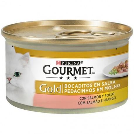 Gourmet Gold - Salmão e Frango