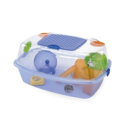 Jaula Hamster Yo-yo Plus Azul