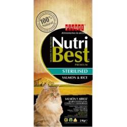 Nutribest Cat Adult Steriilised Salmon Rice