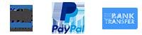 Multibanco | paypal | transferência bancária